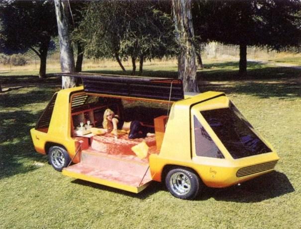 Van yellow custom