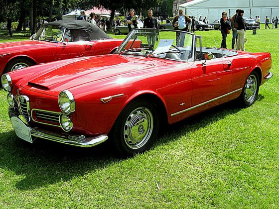 Alfa Romeo 2600-Spider-Touring