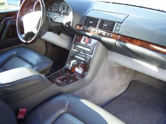 Mercedes 1996 S600 int