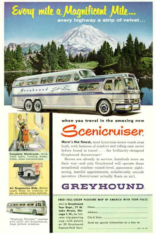 Scenicruiser Greyhound