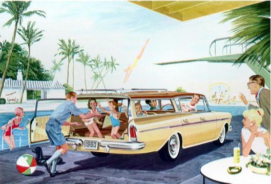 AMC Rambler 1960 wagon rear