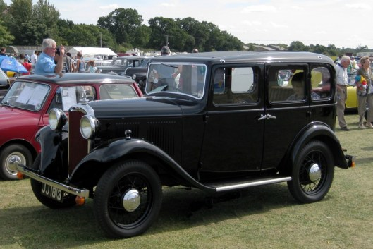 Hillman Minx 1932 _1124cc_first_reg_December_1932