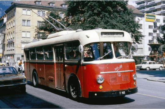 O-Bus Innsbrucj Graf und Stift