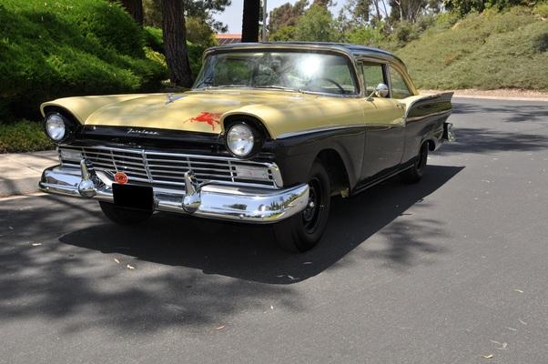 1957 ford bonneville car
