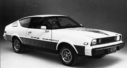 Plymouth Fire_Arrow 1979 _Sport_Coupe_f3q_B_W