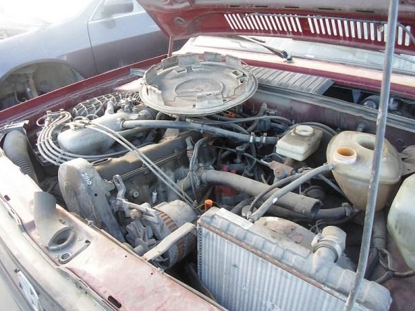 1987 Volkswagen Fox engine