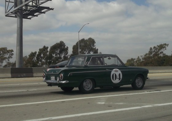Ford Cortina at speed 2