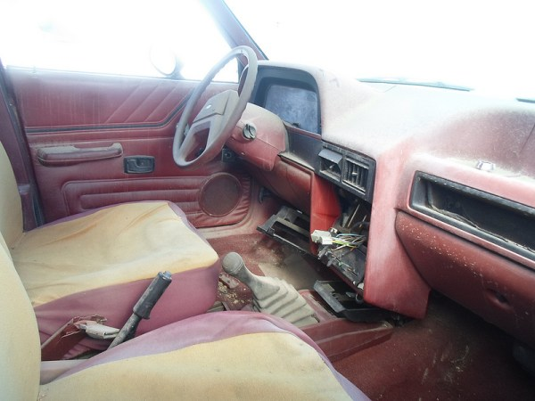 Ford Escort interior