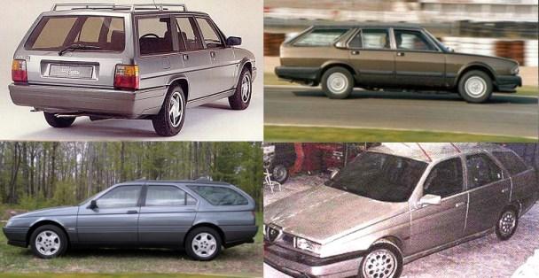 alfa 90s wagons