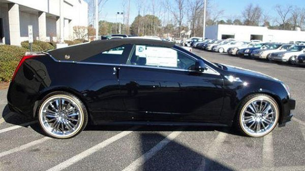 Cadillac 2013 CTS coupe vinyl top