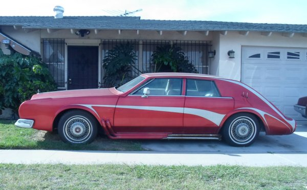 Cadillac Seville custom side