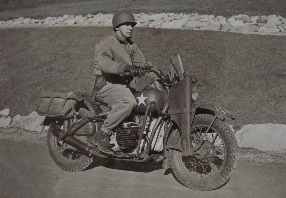 D Day History Classic The Harley Davidson Wla In The
