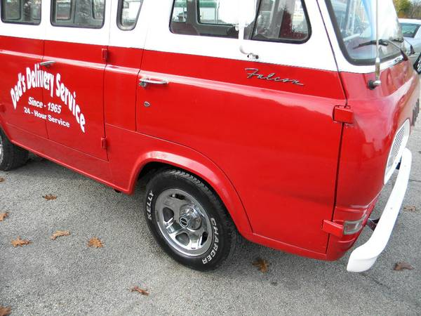 Craigslist Find 1965 Ford Falcon Van As Close To Autos Post