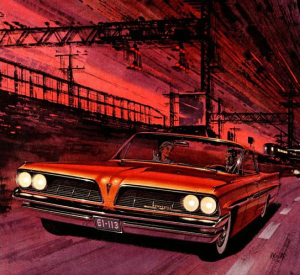 FK 1961 Pontiac red