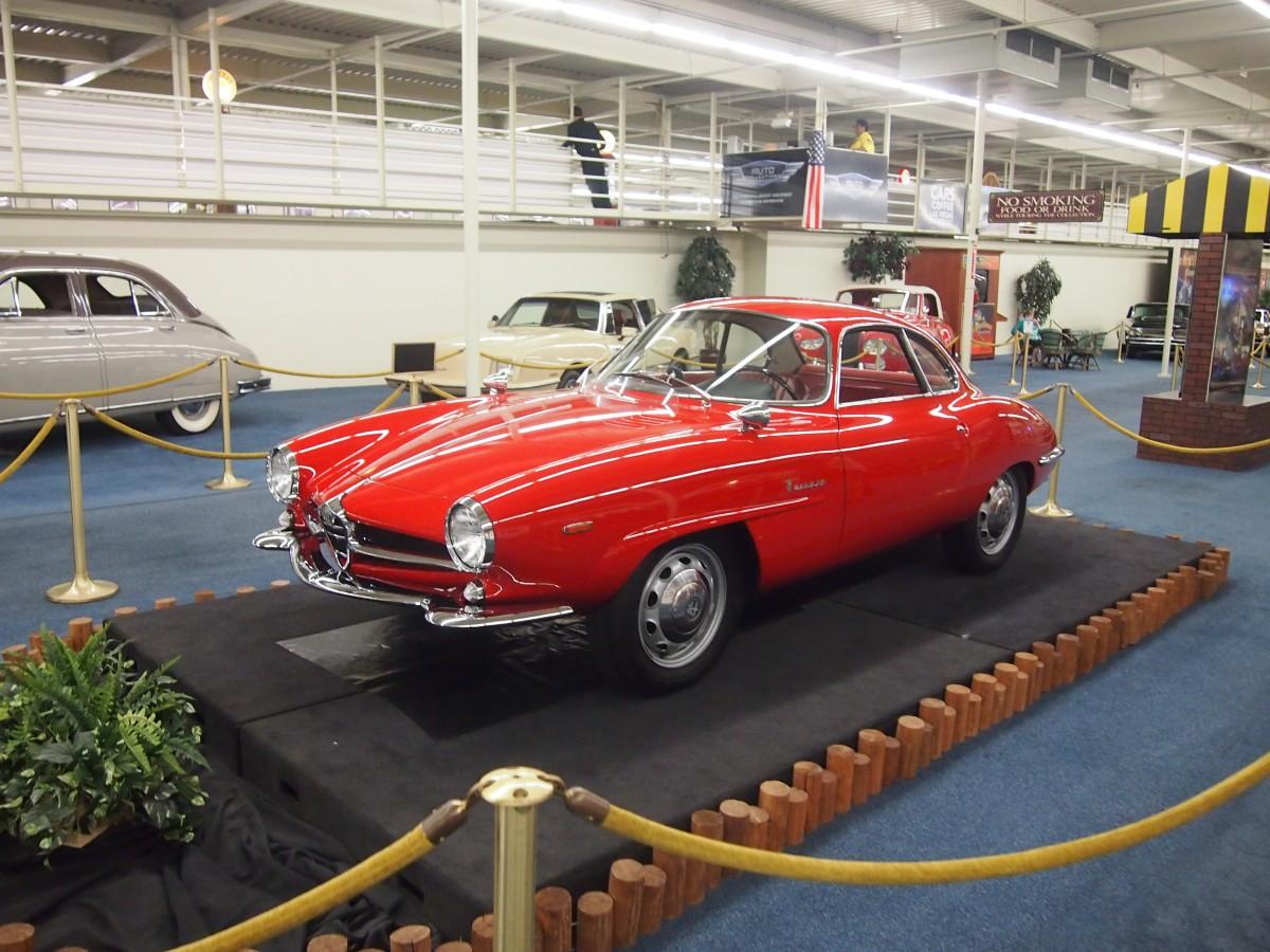Alfa Romeo Giulia Dallas >> Museum Classics: Auto Collection at The LINQ – Part 2