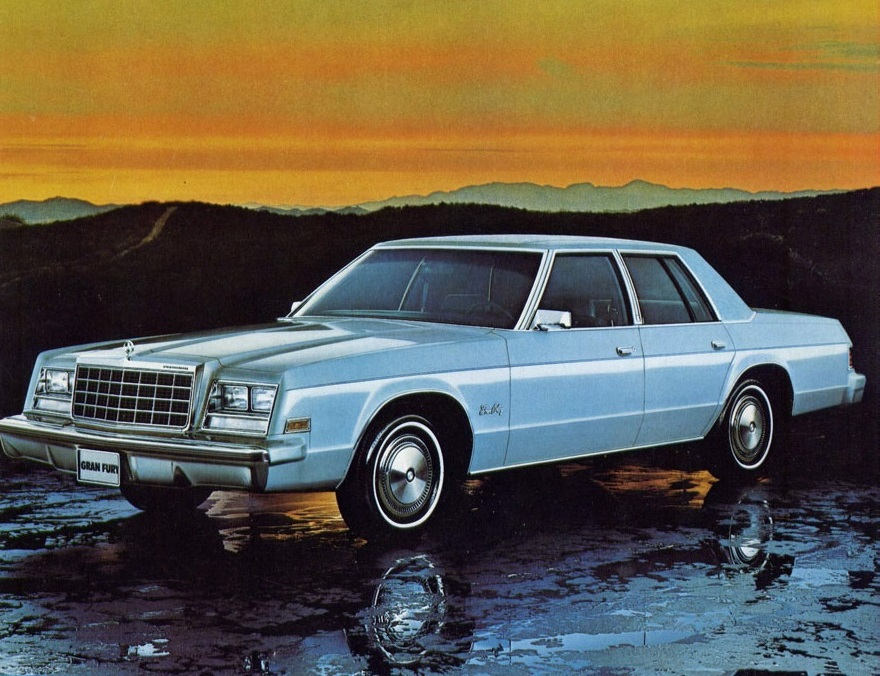 Curbside Classic 1974 77 Plymouth Gran Fury Struck By Oil
