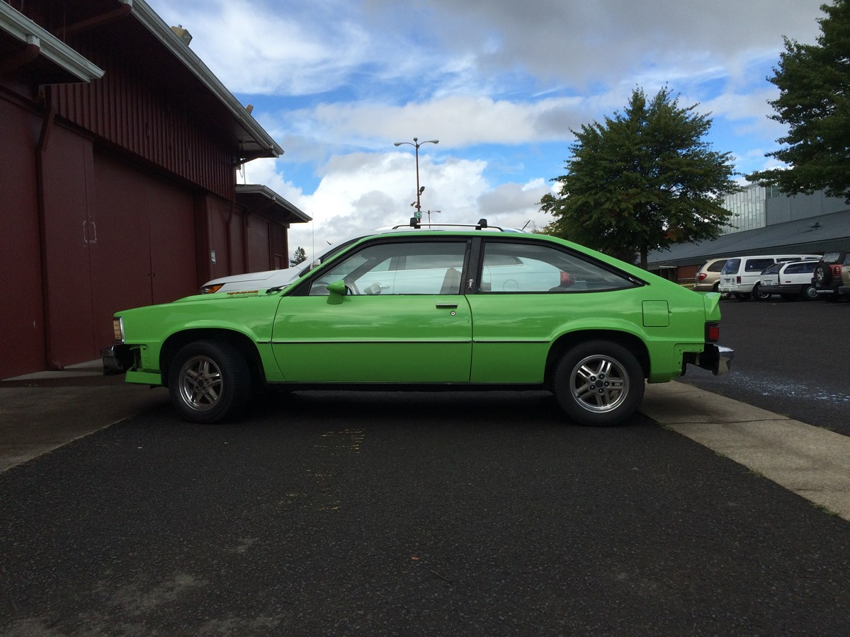 Chevy citation green