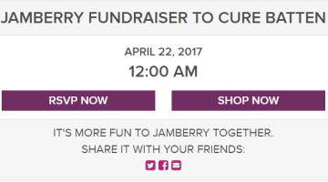 Jamberry online gray fundraiser