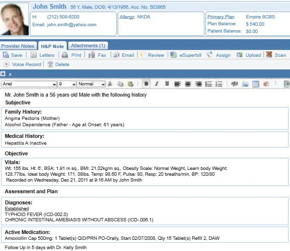 Pediatric EHR Software Pediatric Practice Management for Physicians!