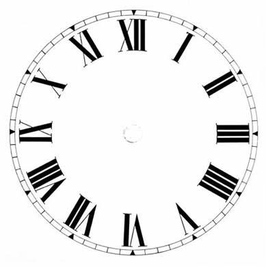 3d Clock Live Wallpaper Blank Clock Face