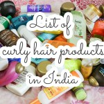 List of curly hair products in India (for every budget)