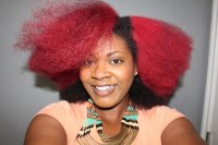 Red Hair Color | How to Dye Natural Hair Red - Curly Corner