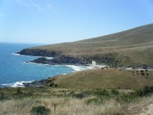 Blowhole beach