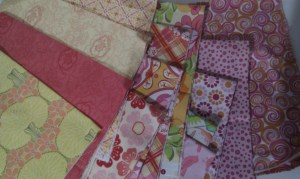 Selection of fabric