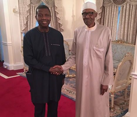 pastor adeboye and buhari