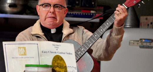 Eddie Curry as Pastor Gunderson in the Church Basement Ladies. (Submitted photos)