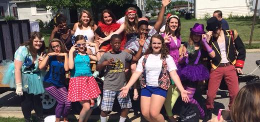 "The teenagers involved in the performance of ""Godspell"" said it's a chance to gain insight into biblical characters. (Submitted photo)"