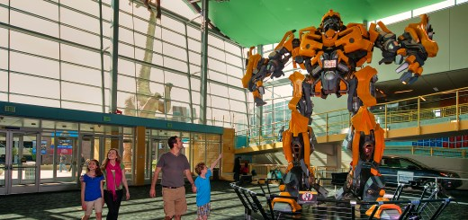 A Transformer inside the Indianapolis Children's Museum. (Submitted photo)