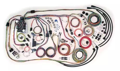 Complete Wiring Kit - 1955-1959 Chevy Truck - CPW LSX Harness
