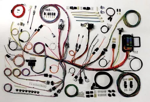 Complete Wiring Kit - 1953-62 Corvette - CPW LSX Harness LSX
