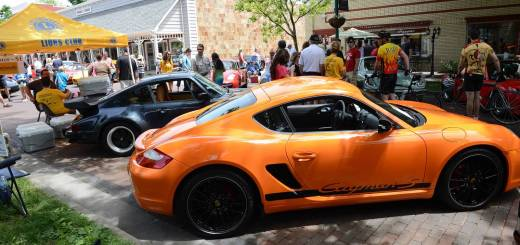 """""""Fast cars and loads of fun"""" is how CruZionsville director Steve Tarr described the Father's Day weekend Porsche event. (Photos by Theresa Skutt)"""