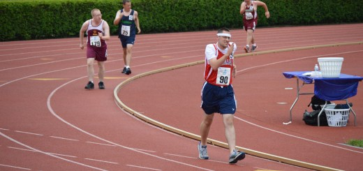 Hugh Breen runs for gold in the special olympics. (Submitted photo)