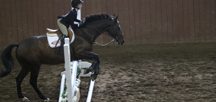 Gabriella Lewis of Zionsville rides her horse. (Submitted photo)