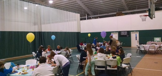 Families enjoyed a morning of breakfast and crafts during the Easter Angel Breakfast. (Submitted photos)