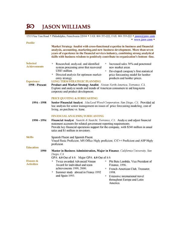 modelo de resume en ingles - Jolivibramusic