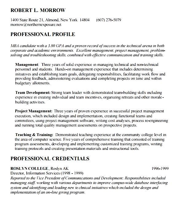Gallery of Ma Resume Objective - Mba Application Resume Format