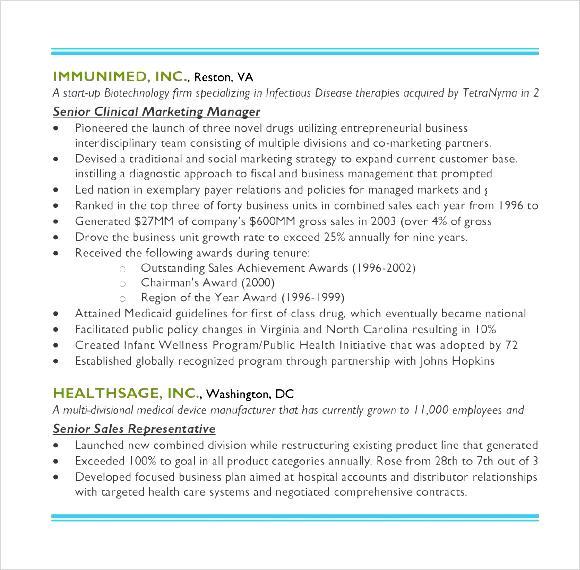 Free sample resume of marketing executive - brand officer sample resume
