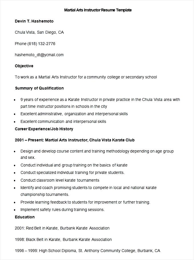 art teacher resume example