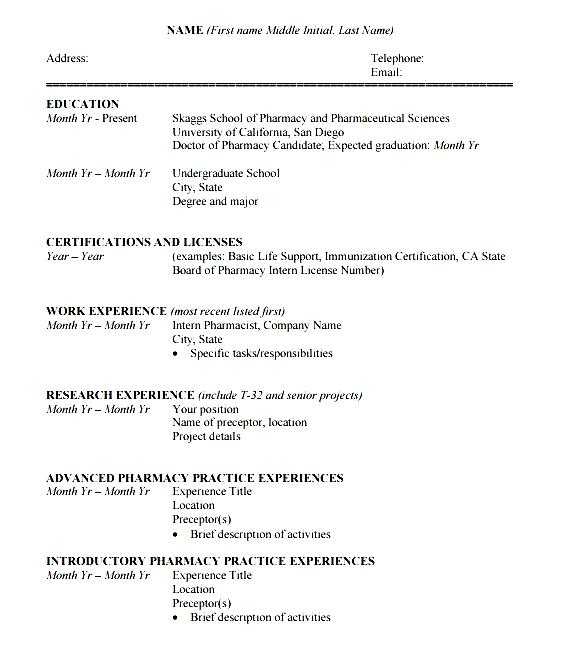 Student Resume Guide Life Uta Cv Template Pdf Free Samples Examples And Format