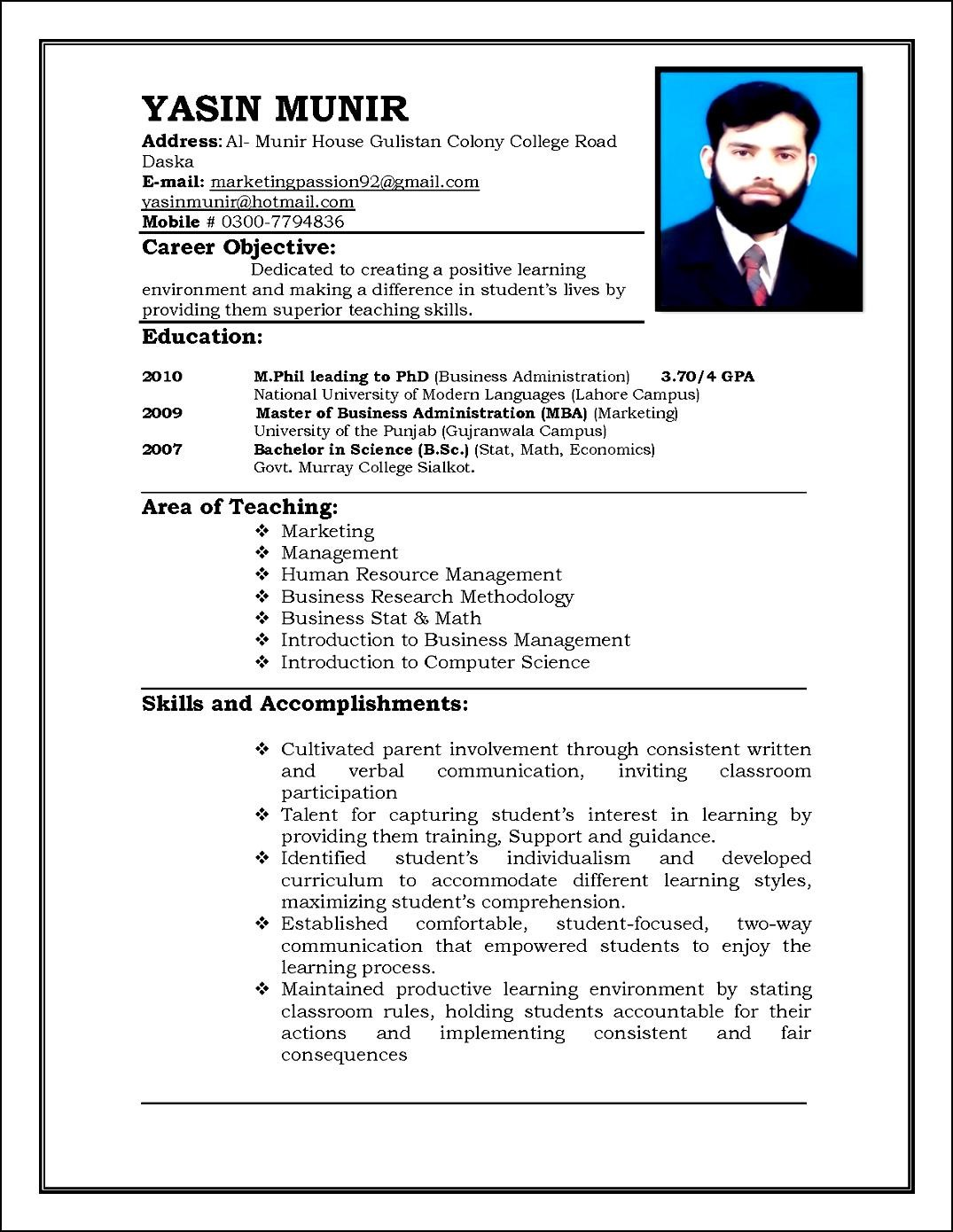 curriculum vitae resume samples for teachers sample customer curriculum vitae resume samples for teachers curriculum vitae daniel a woods edd curriculum vitae for teachers