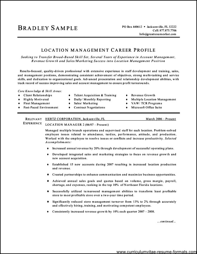 free office samples - Idealvistalist - office manager sample resume