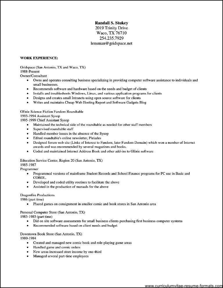 open office template resume - Idealvistalist - office templates resume
