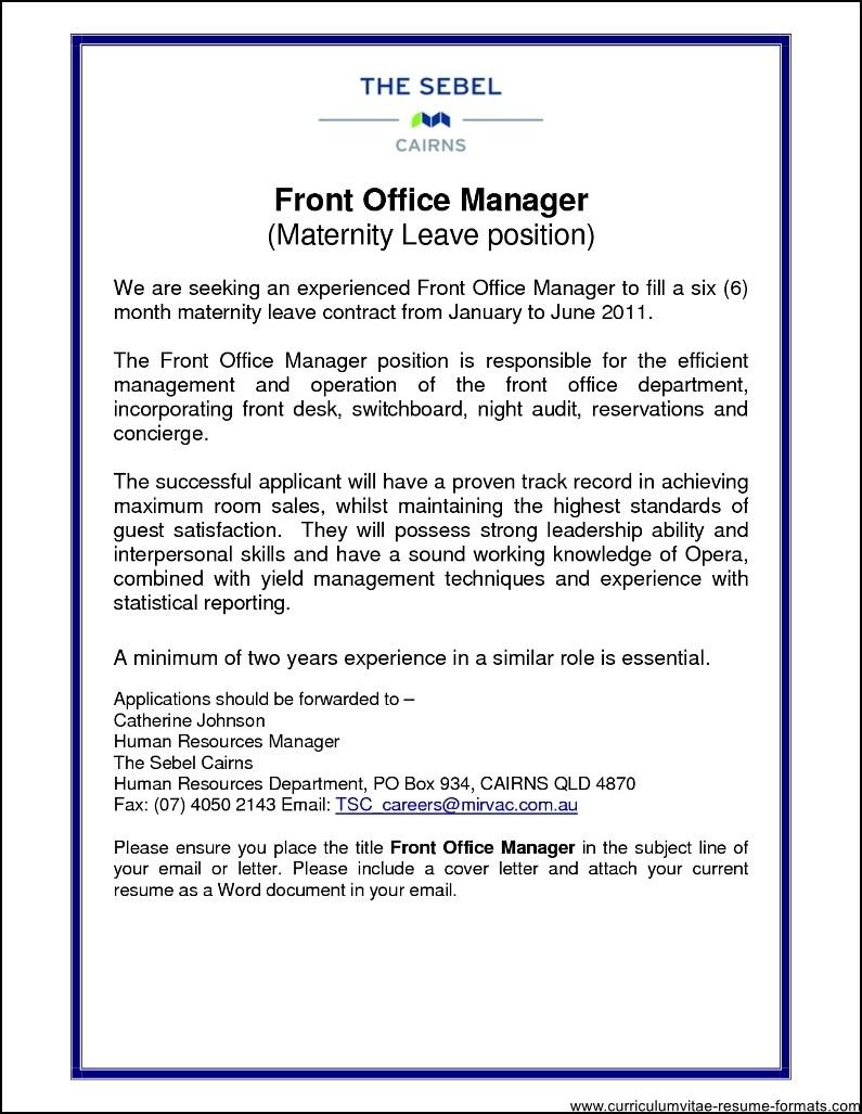 sample resume for hotel front desk manager