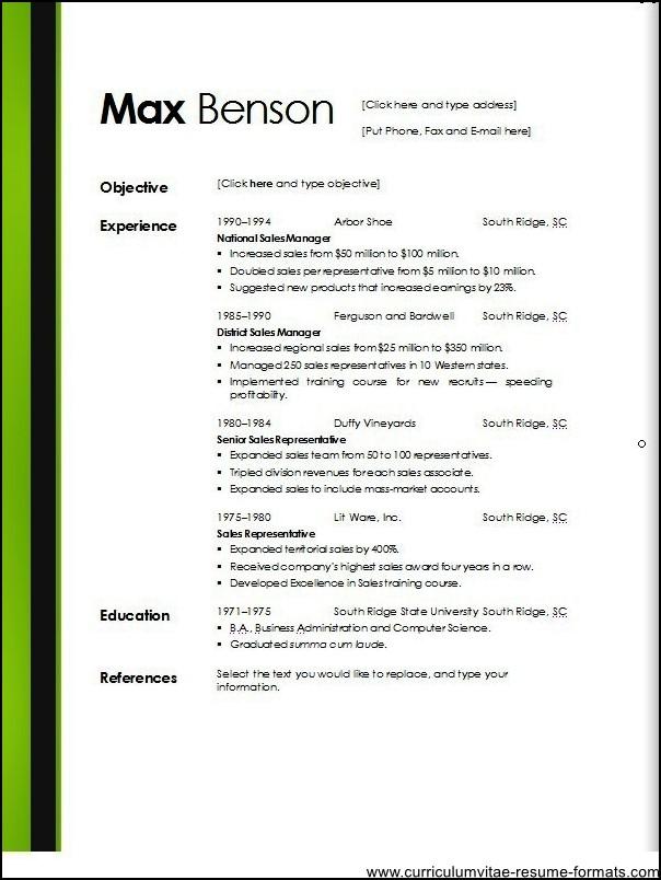microsoft office resume templates 2013 - Teacheng - microsoft office resume templates 2013