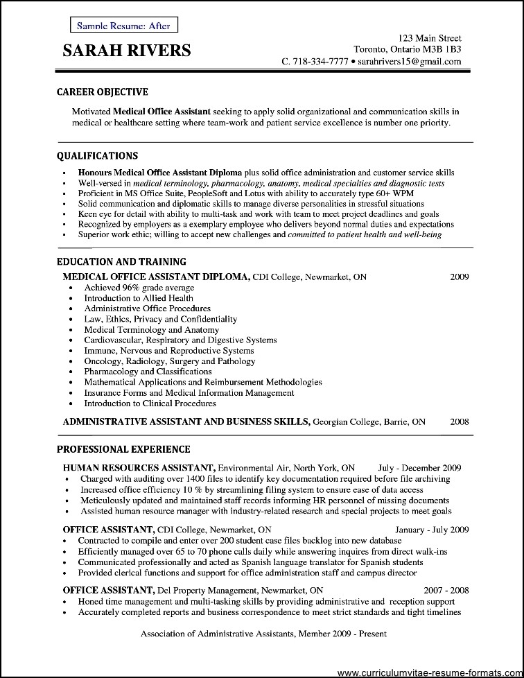 Office Assistant Resume Example Secretary Teachers Aide Office Assistant Resume Objective Free Samples