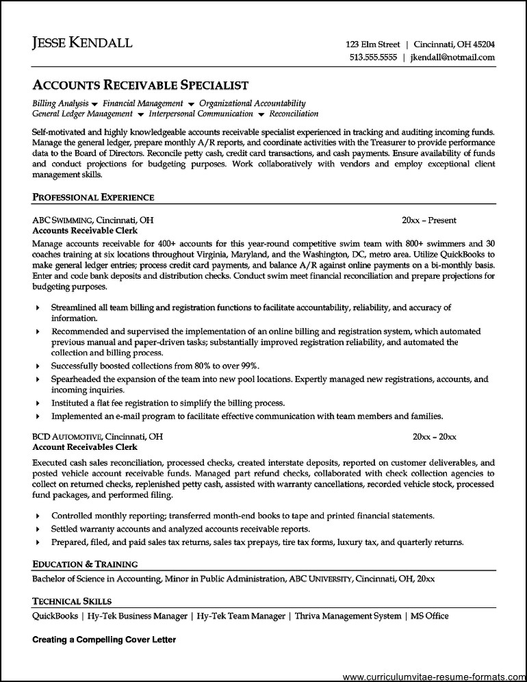 Effects Of Gpa - Weimar Institute clerical resume and free template ...